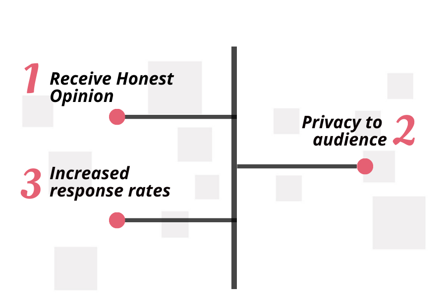 benefits of confidential surveys