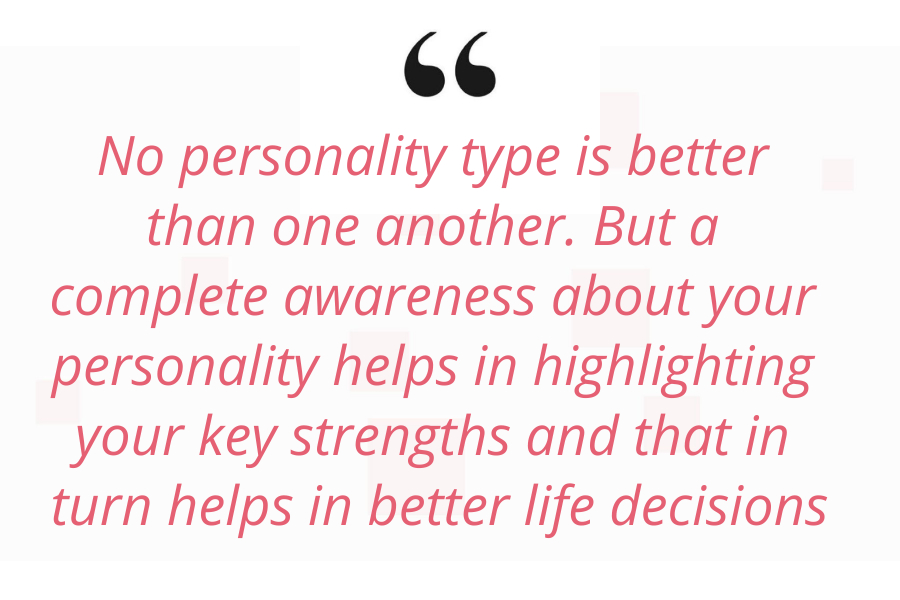 Big five personality test quote
