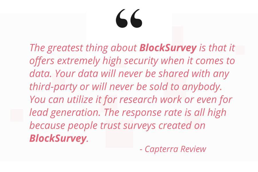 blocksurvey reviews in capterra