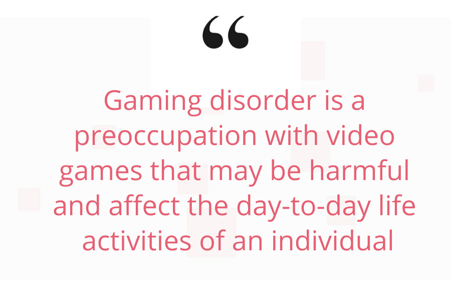 Gaming disorder Video game addiction