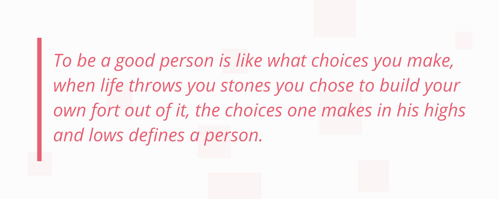 Good person quotes
