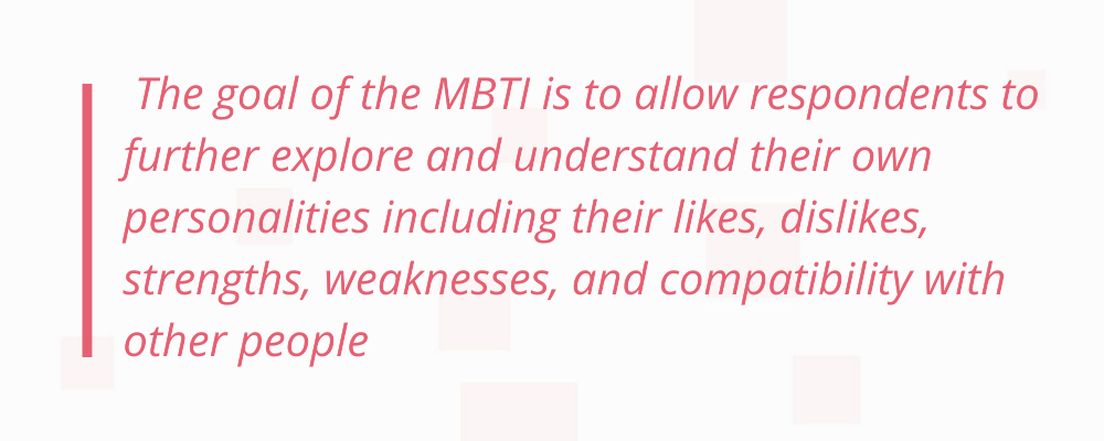 Myers-Briggs personality type
