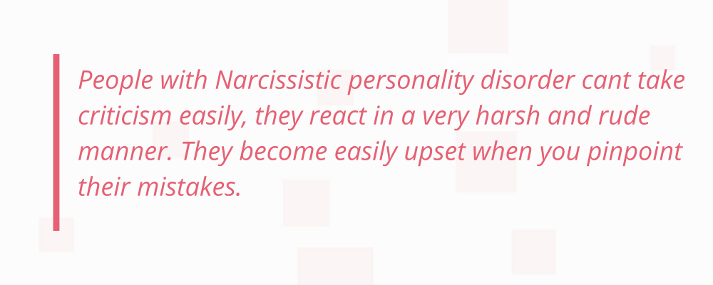 Narcissistic personality disorder test quote