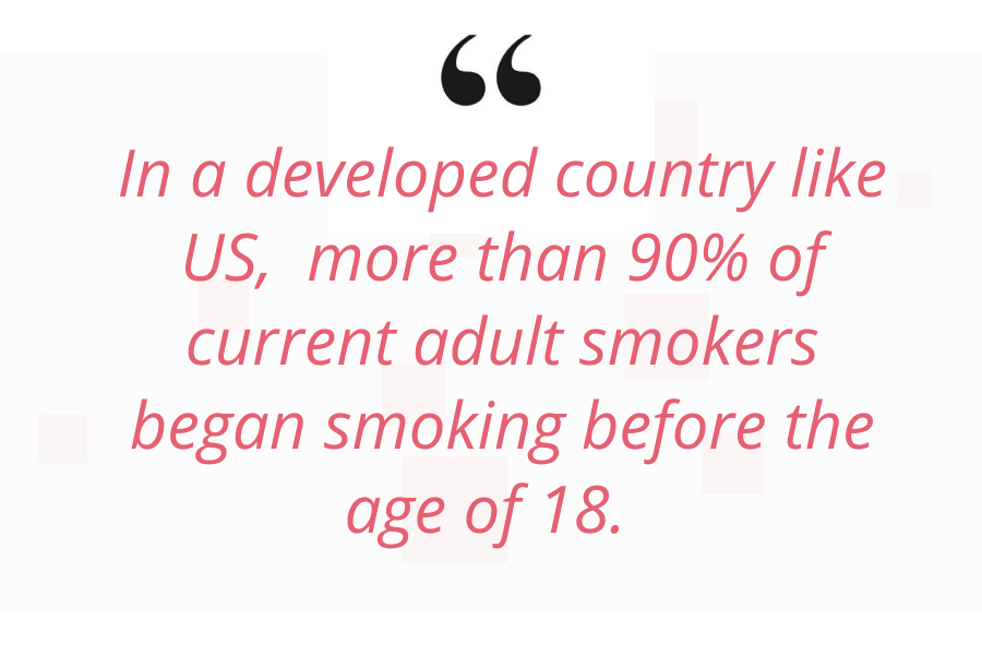 Nicotine addiction quote