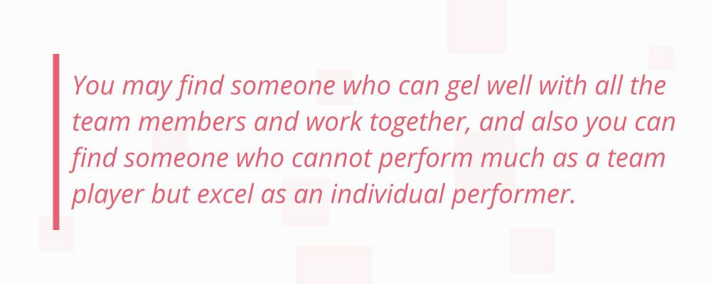 quote on team work