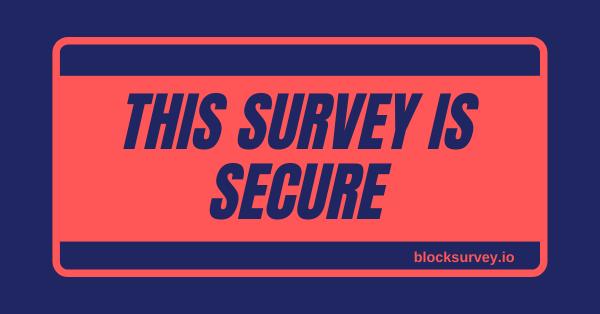 Secure survey software