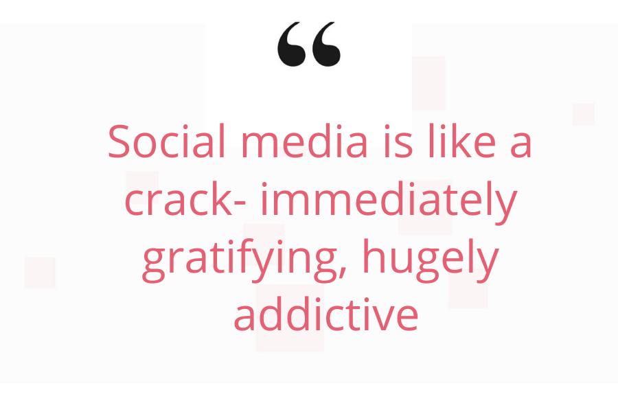 social media addiction quote