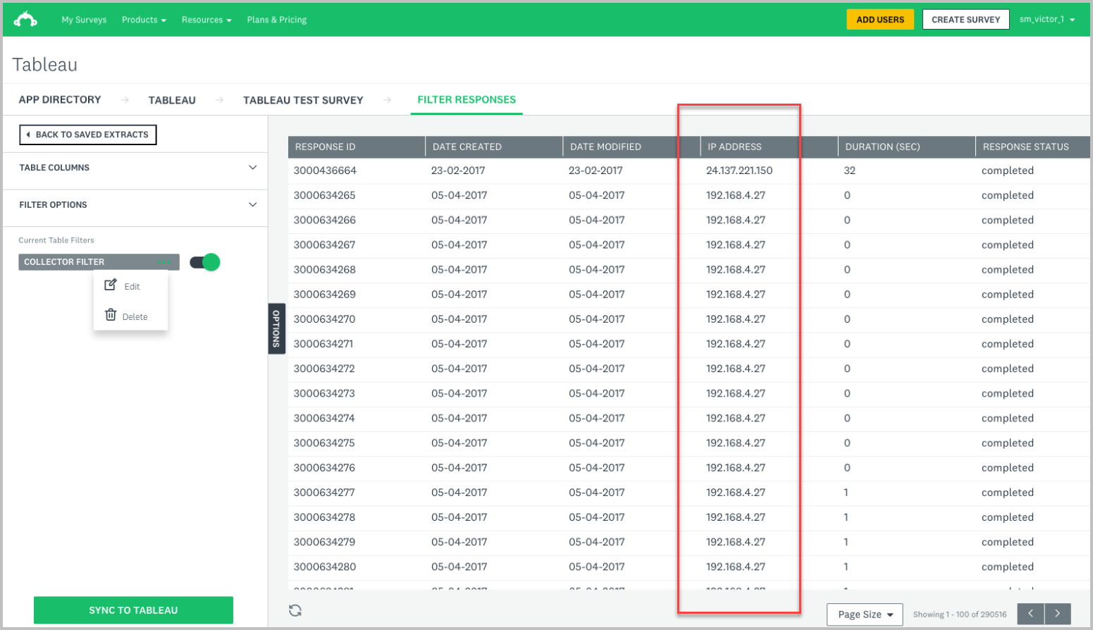 sample ip address surveymonkey screenshot